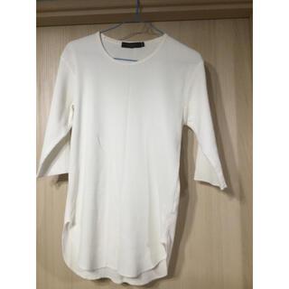 レイジブルー(RAGEBLUE)のRAGEBLUE ⭐️七分袖シャツ 白(Tシャツ/カットソー(七分/長袖))