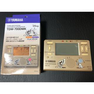 ヤマハ(ヤマハ)のYAMAHA チューナーメトロノーム TDM-700DMK ディズニーミッキー(その他)