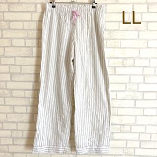 ヴィクトリアズシークレット(Victoria's Secret)のヴィクトリアシークレット パジャマパンツ ストライプ LLサイズ(ルームウェア)