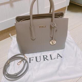 Furla - FURLA フルラ テッサ sabbia サビア グレージュ ハンドバッグ