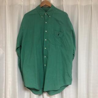POLO RALPH LAUREN - ラルフローレン ボタンダウンシャツ オーバーサイズ 90s