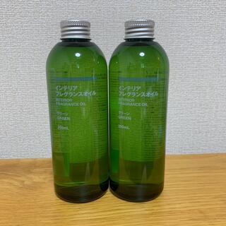 ムジルシリョウヒン(MUJI (無印良品))のインテリアフレグランスオイル グリーン 250ml(詰替用)×2本(アロマオイル)