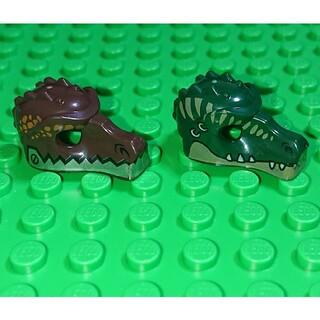 レゴ(Lego)の【新品】LEGO ヘッドギア ワニセット レゴ ミニフィグアイテム(その他)