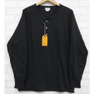 テンダーロイン(TENDERLOIN)のAtLast&Co BUTCHER PRODUCTS 長袖ヘンリーネックTシャツ(Tシャツ/カットソー(七分/長袖))