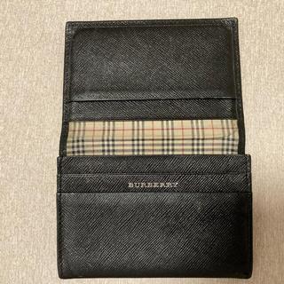 BURBERRY - バーバリー名刺入れ‼️ブラック