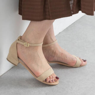 URBAN RESEARCH - rode  sko 新品サンダル