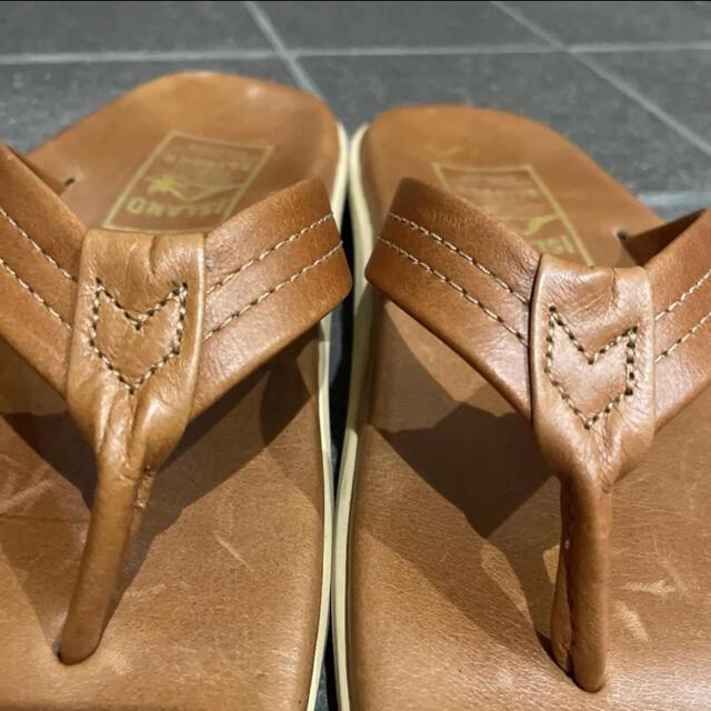 ISLAND SLIPPER(アイランドスリッパ)のISLAND SLIPPER アイランドスリッパ レザー US6 レディースの靴/シューズ(サンダル)の商品写真