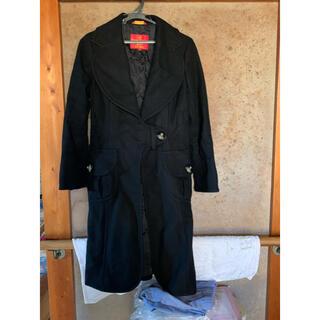 ヴィヴィアンウエストウッド(Vivienne Westwood)のヴィヴィアンウエストウッド ラブ襟ロングコート サイズ2(ロングコート)