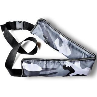 ライフジャケット 腰巻き 救命胴衣 ベルトタイプ 釣り 迷彩柄(灰色)