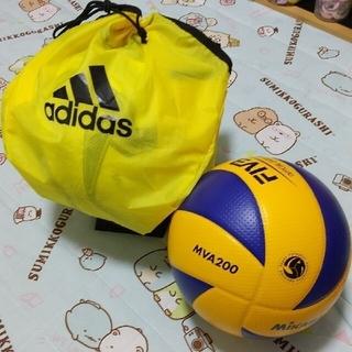 ミカサ(MIKASA)の期間限定セット❣️MVA200未使用品★MIKASA上級者用5号球★バレーボール(バレーボール)