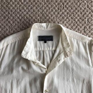 ポールハーデン(Paul Harnden)の19ss Geoffrey B.Small スタンドカラーシャツ XS(シャツ)