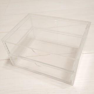 ムジルシリョウヒン(MUJI (無印良品))の無印良品 アクリル 収納ケース(小物入れ)