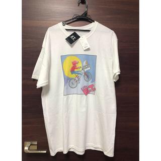 スピンズ(SPINNS)の未使用タグ付 映画 E.T. イラスト Tシャツ  スピンズ(Tシャツ/カットソー(半袖/袖なし))