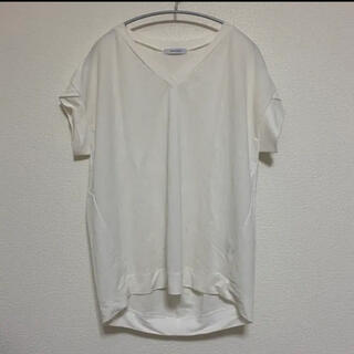 ジーナシス(JEANASIS)のJEANASIS 白Tシャツ(Tシャツ(半袖/袖なし))