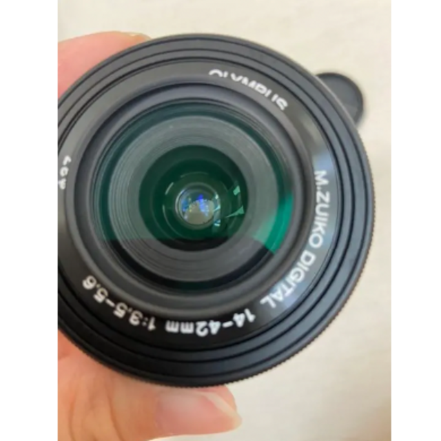 OLYMPUS(オリンパス)のOLYMPUS OM-D EM10 Mark3 EZダブルズームキット スマホ/家電/カメラのカメラ(ミラーレス一眼)の商品写真