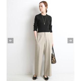 IENA - IENA  woolライトツィードパンツ 新品タグ付き
