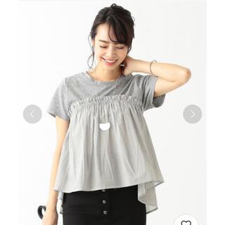 ビームス(BEAMS)のビーミングby beams ペプラムトップス(Tシャツ(半袖/袖なし))