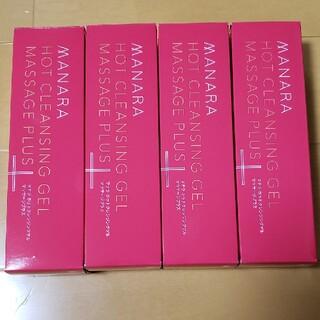 maNara - 【4本セット】マナラ ホットクレンジングゲル マッサージプラス 200g×4本