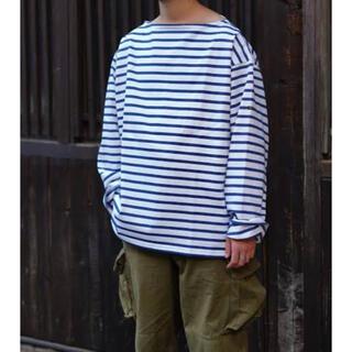 コモリ(COMOLI)のOUTIL / ウティ バスクシャツ サイズ2(Tシャツ/カットソー(七分/長袖))