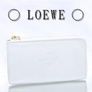 LOEWE - 【良品】LOEWE ロエベ ヘリテージ 長財布 レザー L字ファスナー