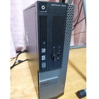 デル(DELL)のDELL 3020 Win10 i3 4GB SSD WiFi 爆速(デスクトップ型PC)