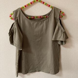 ミスティック(mystic)のmystic カットソー カーキ(Tシャツ(半袖/袖なし))