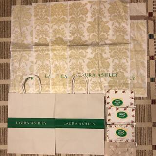 ローラアシュレイ(LAURA ASHLEY)のローラアシュレイ 紙袋 ビニール袋 カードなど 11点(その他)