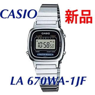 カシオ 腕時計 スタンダード LA670WA-1JF