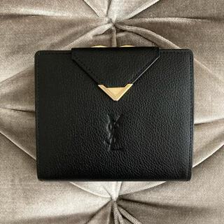 サンローラン(Saint Laurent)のイヴ・サンローラン ❤️ ヴィンテージ ロゴ シンプル がま口 財布(財布)