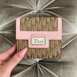 クリスチャンディオール(Christian Dior)のクリスチャンディオール ❤️ ヴィンテージ トロッター 折り財布(財布)