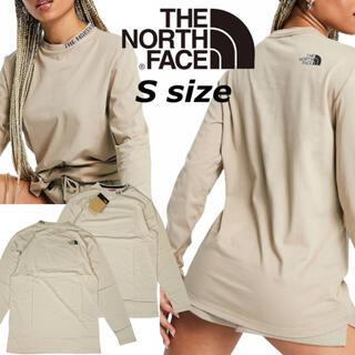 THE NORTH FACE - ノースフェイス 長袖 Tシャツ ロンT NF0A5ILW ベージュ ズーム S
