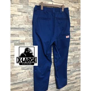 XLARGE - エクストララージ ワークパンツ ブルー