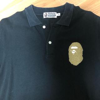 アベイシングエイプ(A BATHING APE)のアベイシングエイプ 23周年ポロシャツ Mサイズ(ポロシャツ)
