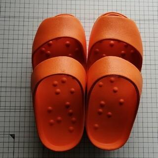 ✨フィットネス/ダイエット✨サンダル(スリッパ)/オレンジ(エクササイズ用品)