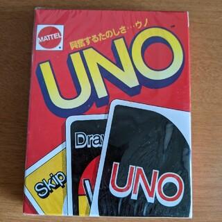 UNO/ウノ カードゲーム 未開封新品(トランプ/UNO)