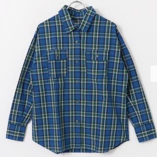 サニーレーベル(Sonny Label)の【Sonny Label】 リラックスフィットチェックシャツ*ブルー系(シャツ/ブラウス(長袖/七分))