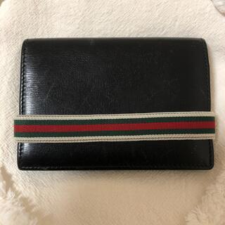 グッチ(Gucci)のグッチ  カードケース  名刺入れ パスケース シェリーライン メンズ(名刺入れ/定期入れ)