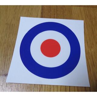 ST青白赤◆新品イギリスUK英国 国籍マーク ラウンデル ステッカー シール防水(その他)
