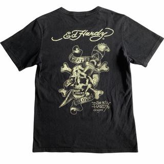 エドハーディー(Ed Hardy)のED HARDY SKULL PRINT TEE PUNK TATTOO(Tシャツ/カットソー(半袖/袖なし))