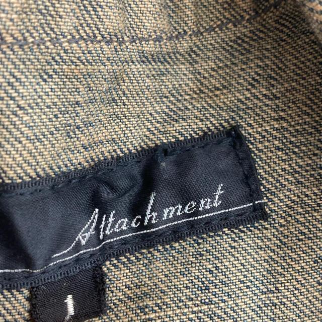 ATTACHIMENT(アタッチメント)のATTACHMENT USED DENIM JACKET COVERALL メンズのジャケット/アウター(カバーオール)の商品写真