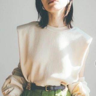 IENA - 【CLANE(クラネ)】パワーショルダーサーマルトップス