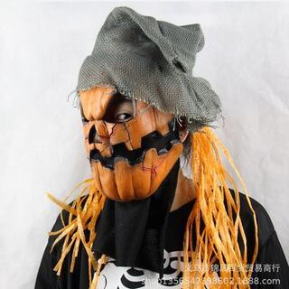 ジャックオーランタン かぼちゃマスク 仮面 ハロウィン仮装 肝試し コスプレ(小道具)