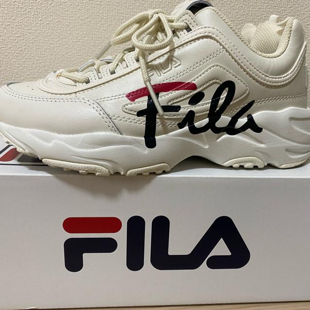 FILA(フィラ)の【FILA】ディストレイサースクリプト レディースの靴/シューズ(スニーカー)の商品写真