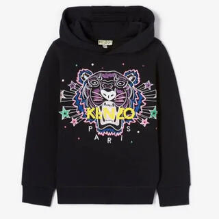KENZO - 【新品】Kids Super Kenzo Tiger Hoodie Girl