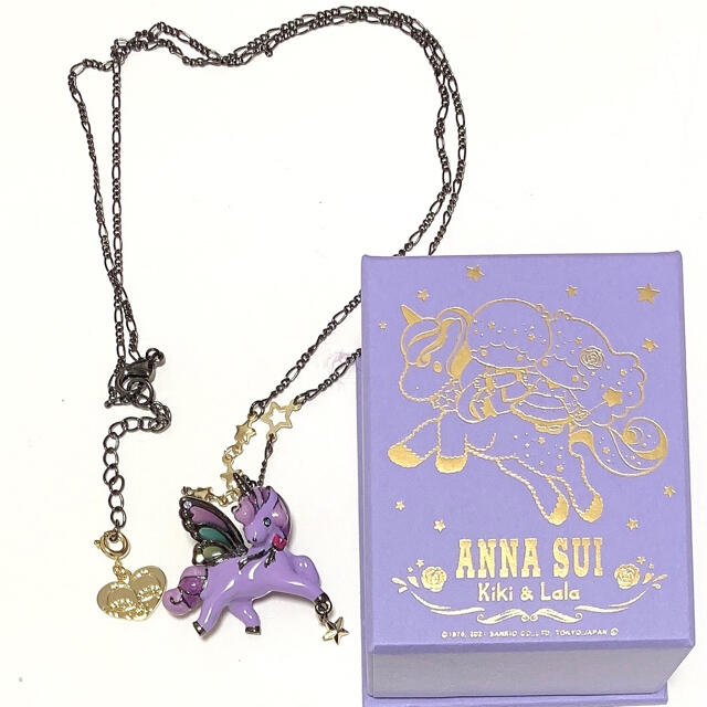 ANNA SUI(アナスイ)のアナスイ キキララ リトルツインスターズ ネックレス レディースのアクセサリー(ネックレス)の商品写真