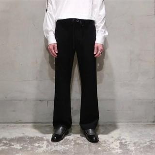 SUNSEA - 最終価格 SUNSEA THICKENEDTEKETEKE PANTS ブラック