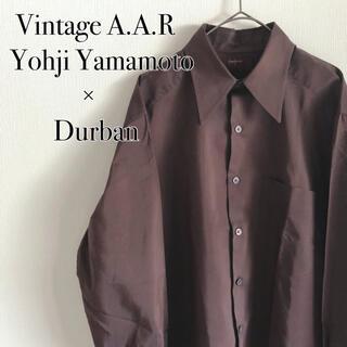 Yohji Yamamoto - Yohji Yamamoto×Durban A.A.R  シャツ ヨウジヤマモト