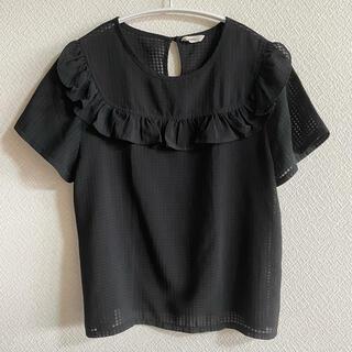 ミスティック(mystic)のフリルTシャツ(Tシャツ(半袖/袖なし))