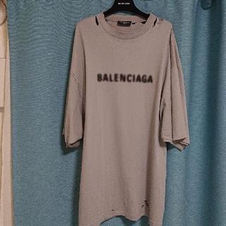 バレンシアガ(Balenciaga)のBalenciagaデストロイ ダメージ Tシャツ(Tシャツ/カットソー(半袖/袖なし))