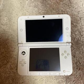 ニンテンドー3DS(ニンテンドー3DS)の3DS LLピンク×ホワイト(家庭用ゲーム機本体)